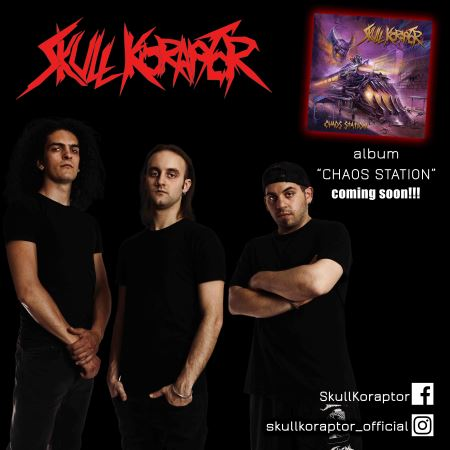"SKULL KORAPTOR: Video για το νέο single ""Blast It Out"""