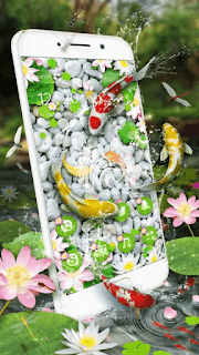 Lively Koi Fish 3D Theme - screenshot 3