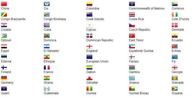 200 Bendera Negara Di Dunia Asean Eropa Afrika Lengkap Infoakurat Com