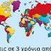 Που θα ζεις σε τρία χρόνια από σήμερα; - Κάνε το τεστ