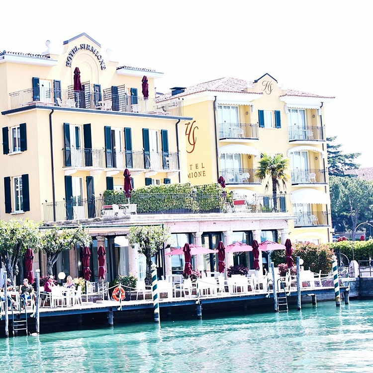 Sirmione hotel, Garda lake,Italy.