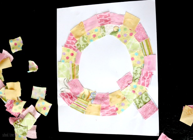 Letter Q Craft: Q IS FOR QUILT