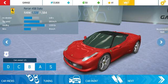 Asphalt nitro apk racing car image