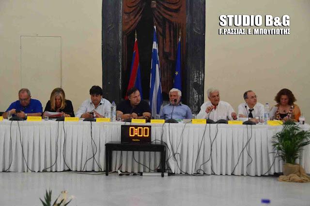 Εκτός έδρας συνεδριάσεις του Περιφερειακού Συμβουλίου Πελοποννήσου σε Ναύπλιο και Σπάρτη