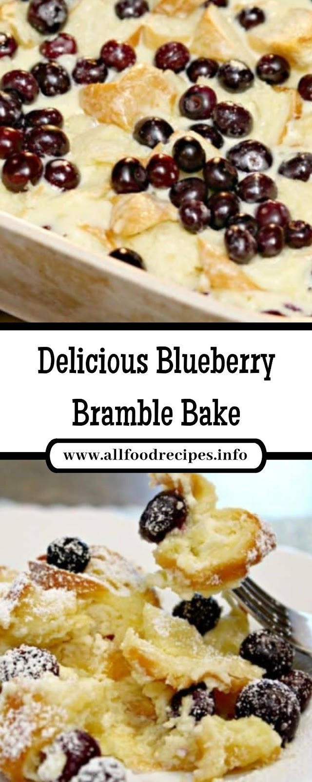 Delicious Blueberry Bramble Bake