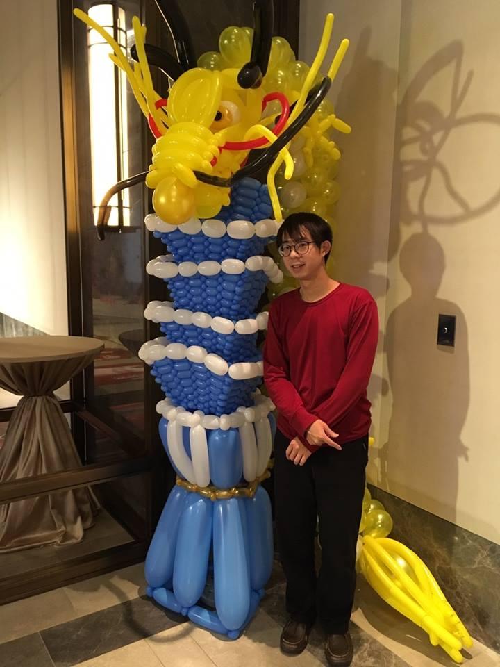 氣球台北101&氣球皇龍