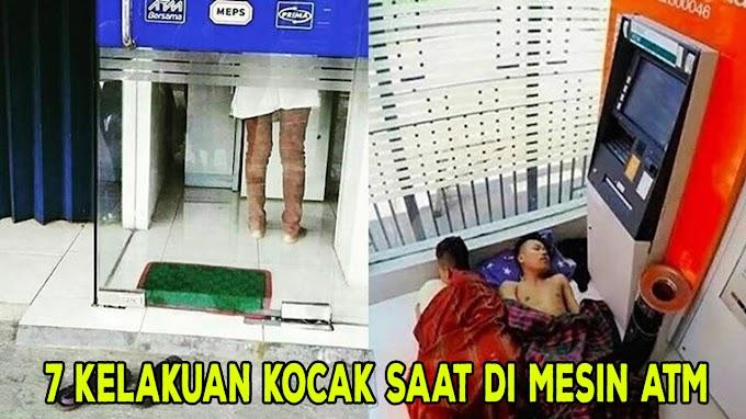 7 Kelakuan Kocak Saat di ATM Ini Bikin Tepuk Jidat,Sungguh Terlalu!