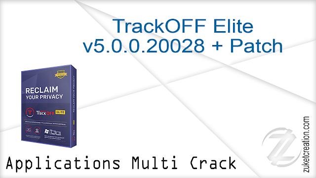 TrackOFF Elite v5.0.0.20028 + Patch   |  130 MB