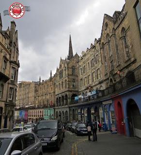 Escocia, Edimburgo, Victoria Street