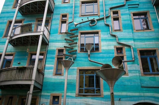 Kunsthofpassage-Cortile degli elementi-Dresda