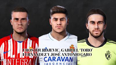 PES 2021 Facepack La Liga SmartBank Vol 2 by Dani