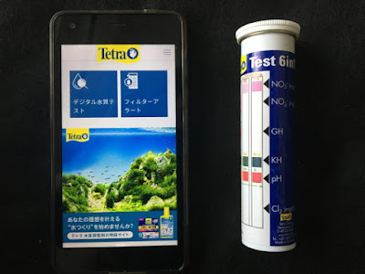 テトラのアプリと6in1