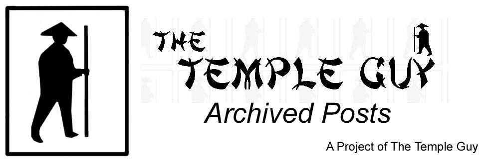 Archived Posts from the Old Temple Guy Site