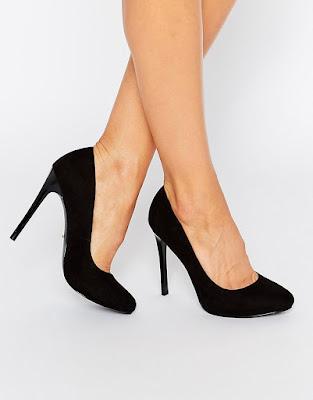 zapatos negros para trabajar
