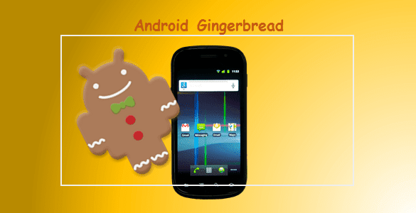 urutan versi android di hp gingerbread
