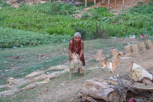 Village - Colline Phnom Krom - Cambodge
