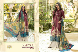 Shree Fab Mariya b Lawn vol 6 Pakistani Suits