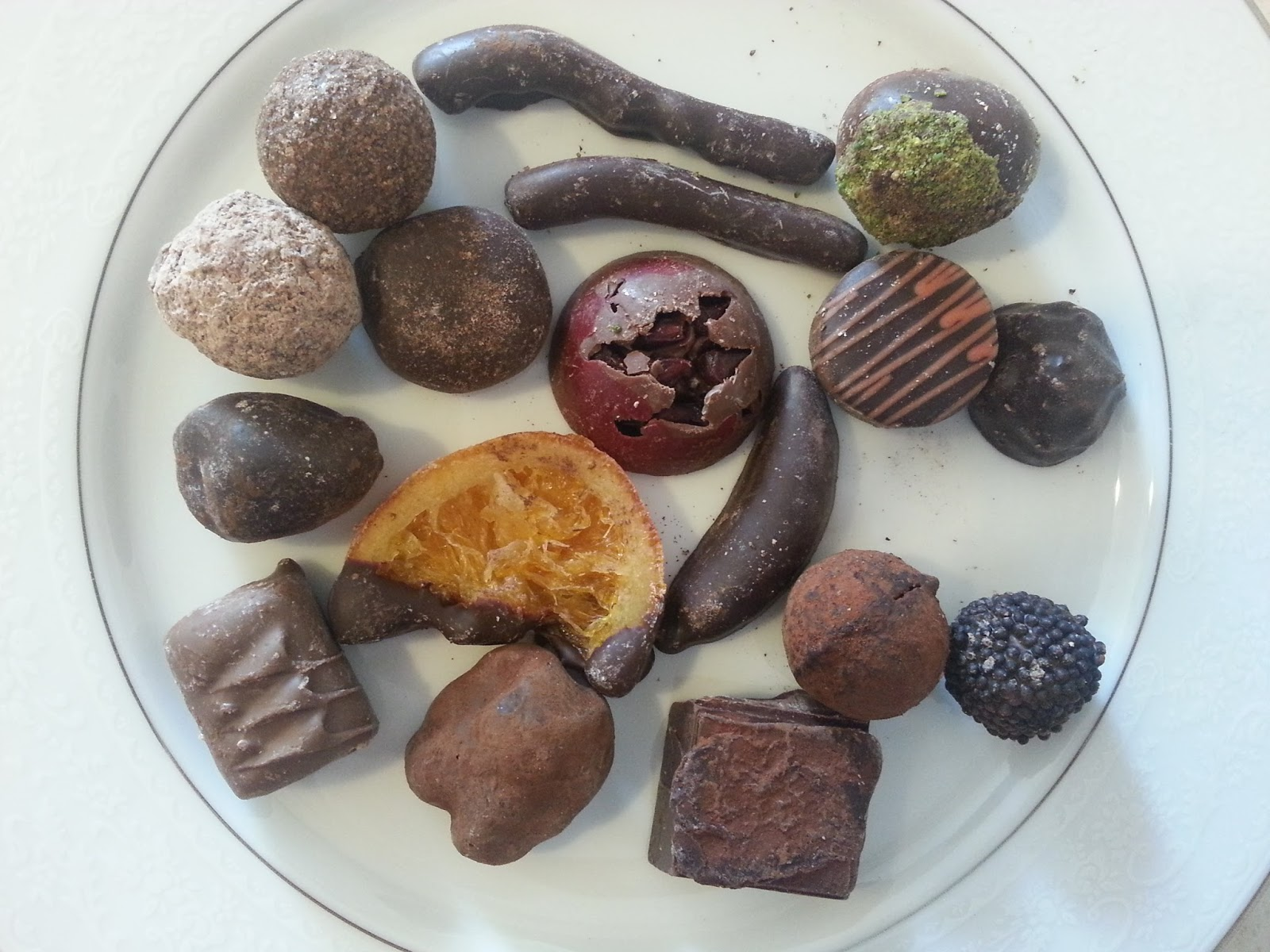 Kakao Kaplı Truf Çikolata Videosu 47