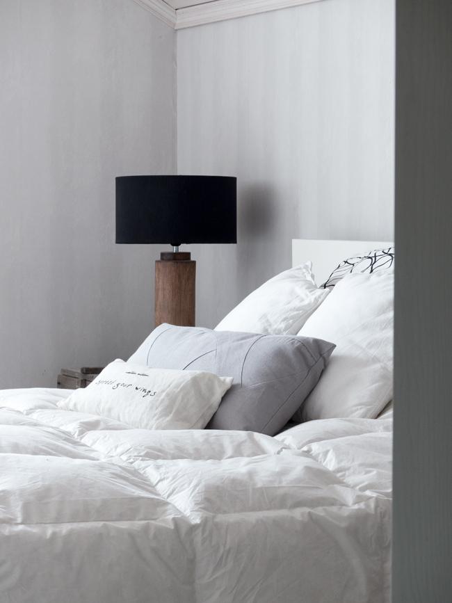 makuuhuone, pedattu peti, untuvapeitto, By Lassen tyyny