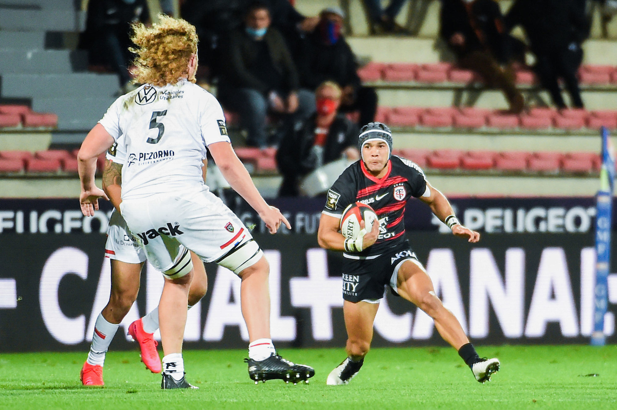 Cheslin Kolbe of Toulouse