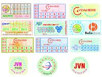 In tem vỡ giá rẻ tại Hà Nội