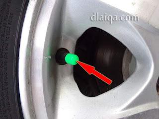 tutup pentil hijau = nitrogen