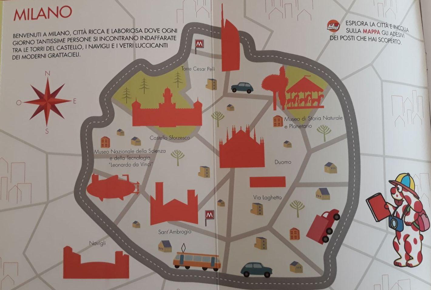 Cartina Di Milano Per Bambini.Mappe E Guide Per Visitare Milano Con I Bambini Figli Moderni