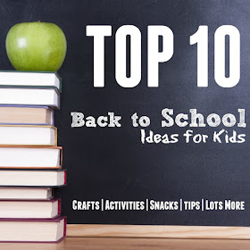 Back to School Ideas for Kids - Homeschool Room Must Haves!
