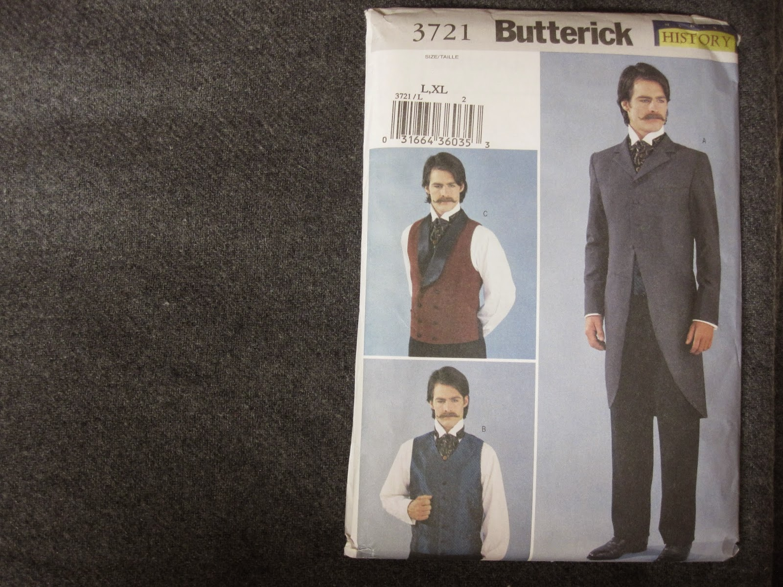 5fc01abd79f Following that I plan to make a retro coat using Simplicity 4563