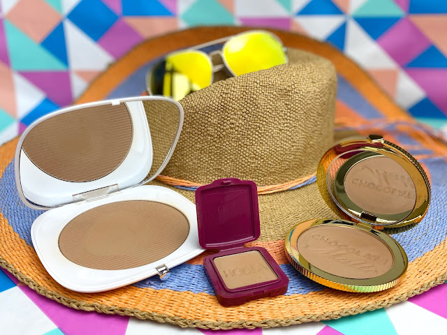 Marc Jacobs Beauty O!Mega Bronzer Tan-tastic, Too Faced Chocolate Soleil Bronzer Benefit Hoola