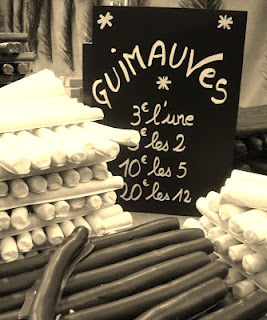 marshmallow french guimauves