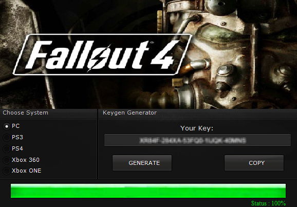 fallout 4 license key generator
