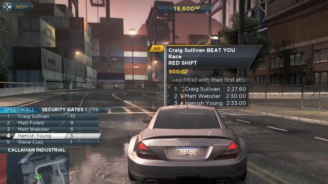 Need For Speed Most Wanted 2012 PC Game Play