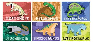 Gorgonops Hylonomus Ianthasaurus Jiuchengia knoxosaurus Lystrosaurus