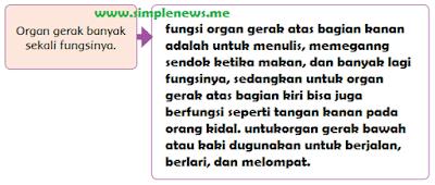 Organ gerak banyak sekali fungsinya www.simplenews.me