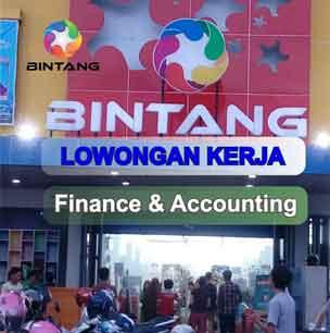 Lowongan Kerja Finance & Accounting di PT Bintang Internasional