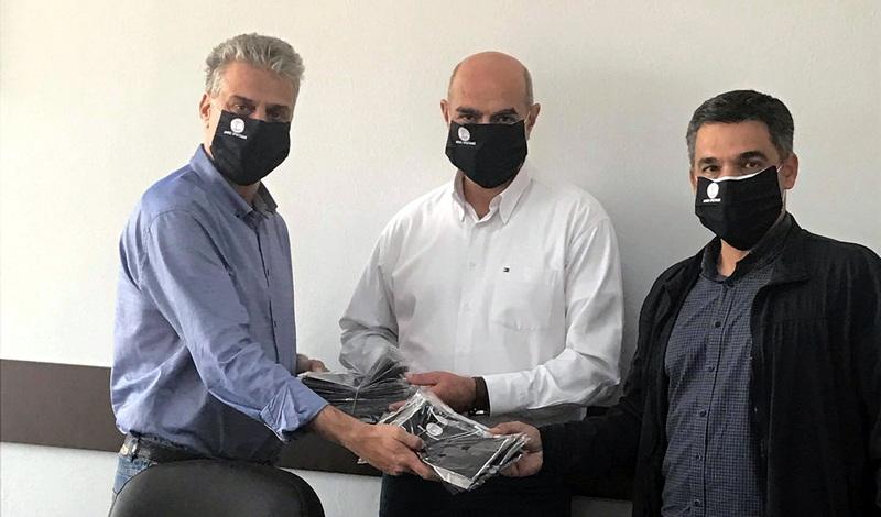 Ο Δήμος Ορεστιάδας δώρισε μάσκες στο Δημοκρίτειο Πανεπιστήμιο Θράκης