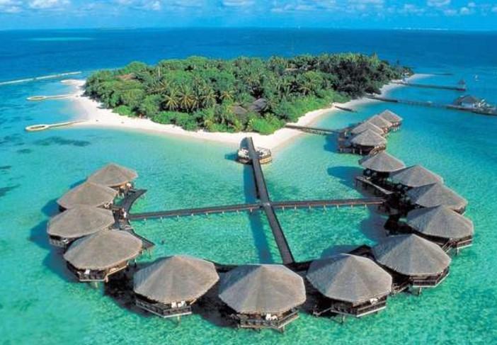 balayı için egzotik adalar maldivler