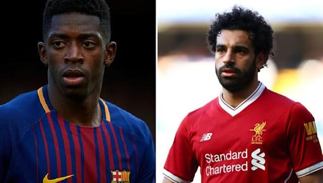 L'avenir d'Ousmane Dembélé dépend de celui de Mohamed Salah