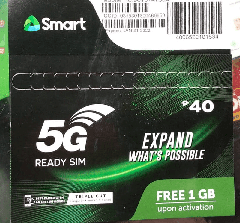 Smart started deploying 5G-ready 4G SIMs in 2019, now with new packaging