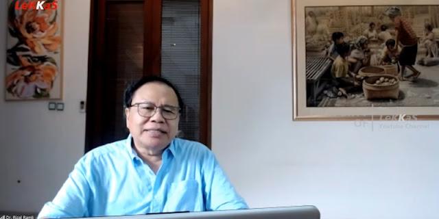 Mengutip Rizal Ramli: Enam Tahun Saja Ambyar, Beban Utangnya Luar Biasa