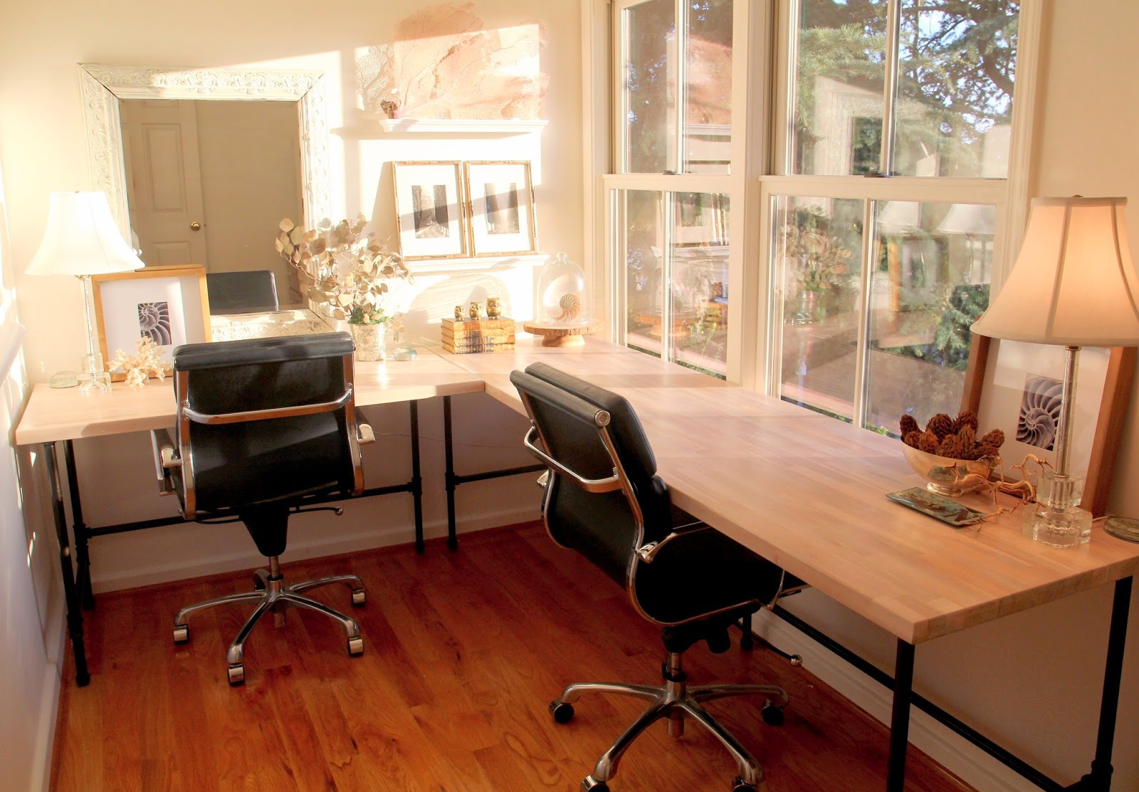 Outstanding Noras Nest Creating Our Home Office Largest Home Design Picture Inspirations Pitcheantrous