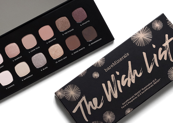 BareMinerals Holiday 2016 The Wish List Palette Review