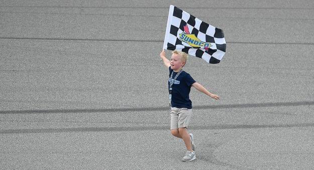 Keelan Harvick's First Karting #Win