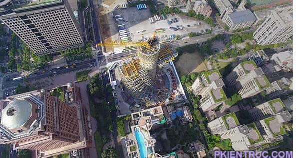 Kết cấu tháp Tao Zhu Yin Yuan- ảnh 4