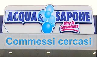 Acqua e Sapone commessi cercasi - www.adessolavoro.com