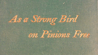 Cover to As  a Strong Bird on Pinions Free