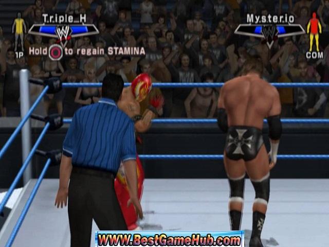WWE SmackDown vs Raw 2007 100% Working