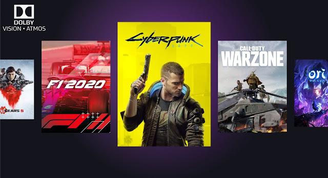 Juegos compatibles con Dolby Atmos Dolby Vision