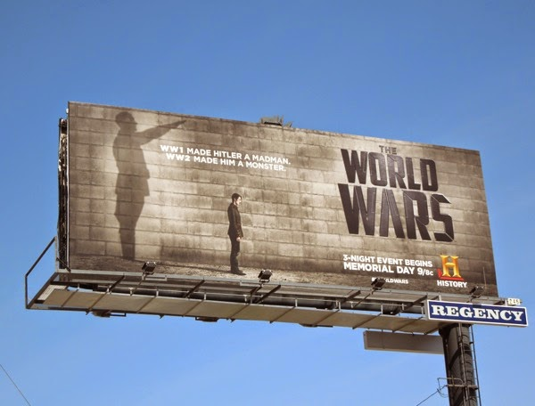 Hitler The World Wars billboard